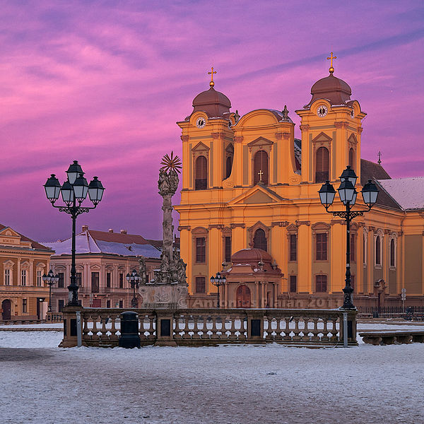 TransferTaxi-EUROPE | Timisoara-Catholic-Dome-in-UnionSquare - TransferTaxi-EUROPE
