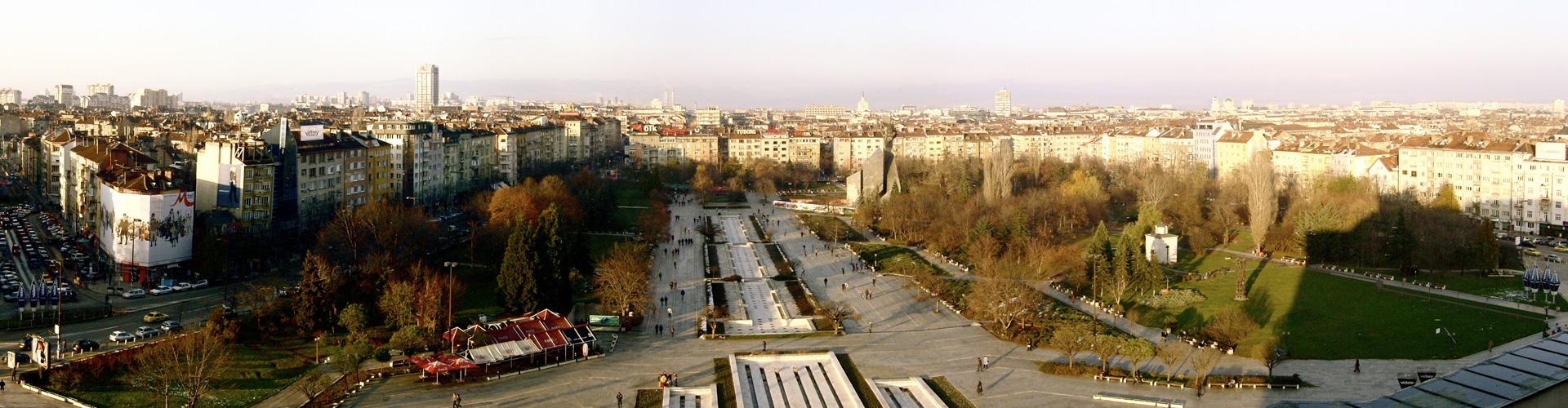 TransferTaxi-EUROPE | bulgaria-sofia_ndk-panorama - TransferTaxi-EUROPE